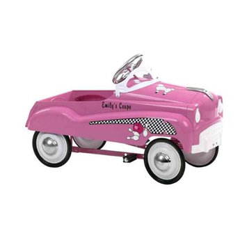 INSTEP Pink Lady Pedal Car Ride On Toy 14 PC750