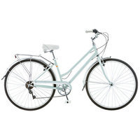 Schwinn Wayfarer 700c Retro City Bike - Women (Green)