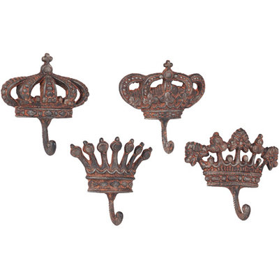 Wilco Metal Crown Wall Hook
