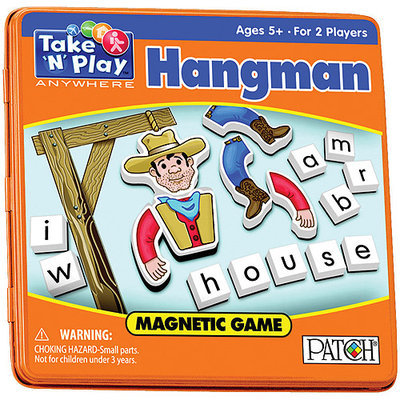 Patch Products Take 'N' Play Anywhere Hangman - Guess - 2