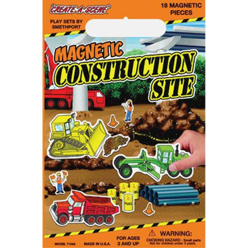 Smethport Specialty Company Smethport Specialty Create-A-Scene Magnetic Playset - Construction Site