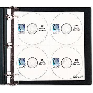 C-line Products, Inc CLI61938 - C-line CD/DVD Ring Binder Kit