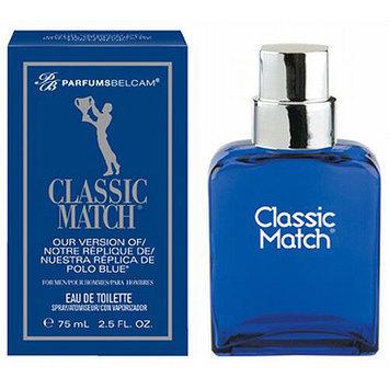 Parfums Belcam Classic Match Version of Polo Blue Eau de Toilette Spray, 2.5 fl oz