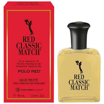 Adfs Cologne Parfums Belcam Red Classic Match Eau de Toilette Spray, 2.5 fl oz