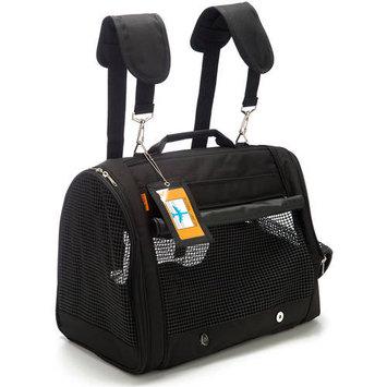 Prefer Pets 328BK Black Backpack Carrier