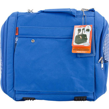 Prefer Pets 328BL Backpack Carrier For Small Pets - Blue
