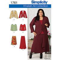 Simplicity Plus Size Dressmaking Leaflet, 1761