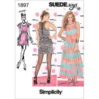 Simplicity SUEDEsays Dresses Dressmaking Leaflet, 1897, A