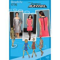 Simplicity Project Runway Dresses Dressmaking Leaflet, 1776, P5