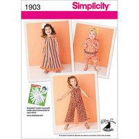 Simplicity Pattern Girl's Dresses, (4, 5, 6, 7, 8)