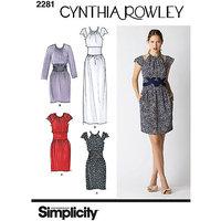 SIMPLICITY MISSES DRESSES-14-16-18-20-22