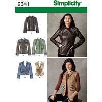 Simplicity Jackets Sewing Leaflet, 2341, U5