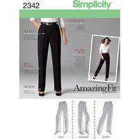 Simplicity Pattern Misses' Skirt/Pants, (14, 16, 18, 20, 22)