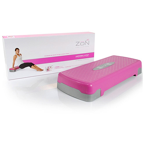 ZoN Aerobic Step Pink - SOUTHBEND SPORTING GOODS INC
