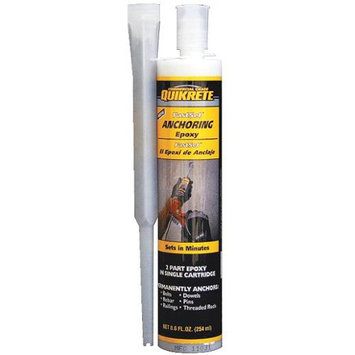 QUIKRETE 10-oz Fast Set Anchoring Epoxy 862030