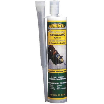 QUIKRETE 10-oz High Strength Anchoring Epoxy 862031