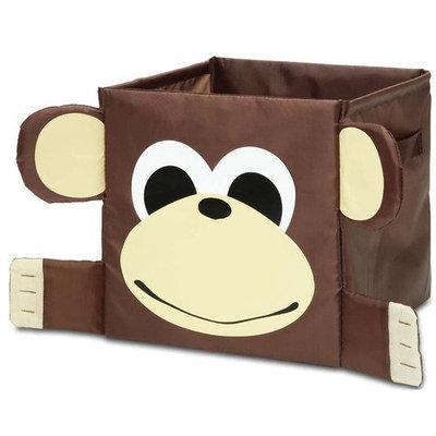 Innovative Home Creations Kids Monkey Storage Cube Brown