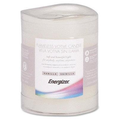 Energizer Flameless LED Wax Votive Candle - LED - CR2032 - Wax - Ivory