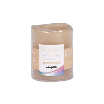 Energizer Flameless LED Wax Votive Candle - LED - CR2032 - Wax - Taupe