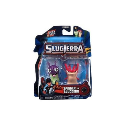 Jakks Pacific Slugterra Basic Figure 2-Pack -Spinner/Bludgeon
