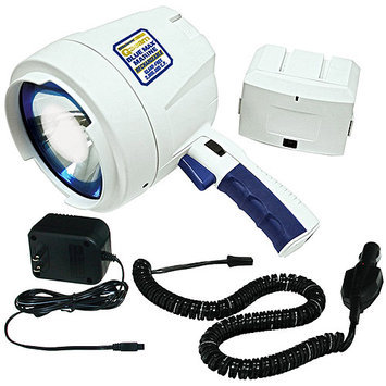 Eforcity Brinkmann 80016200 Qbeam Blue Max Marine Rechargeable Spotlight