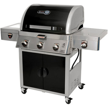 Brinkmann Grill. Zone 5-in-1 Cooking System Dual Fuel Gas Grill