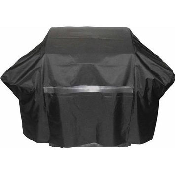 Grill Parts Pro Grill Tools 65 in. Premium Grill Cover Black 812-6096-S2