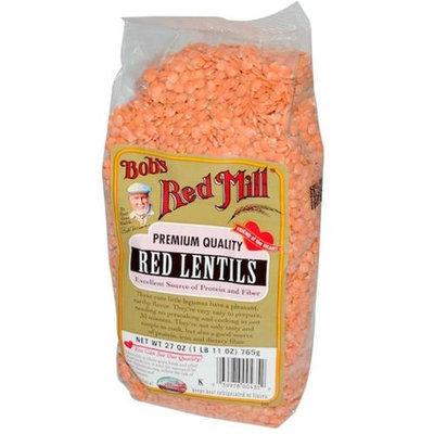 Bob's Red Mill Bobs Red Mill BG11036 Bobs Red Mill Red Lentils Bulk - 1x25LB