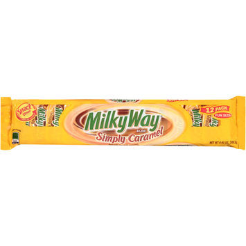 Milky Way Simply Caramel Candy Bars, 12 count, 8.8 oz