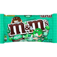 M & M'S Mint Dark Chocolate Candies, 10.2 oz