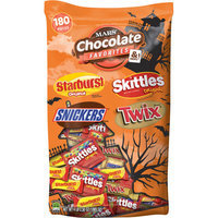 Mars Chocolate Favorites & More Candy Variety Pack, 180 count, 32.9 oz