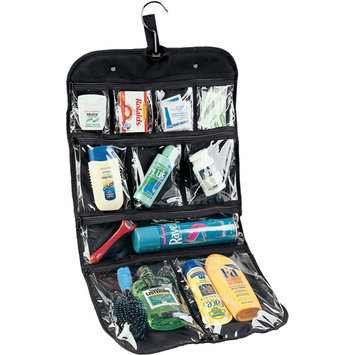 Household Essential 06910 Hanging Cosmetics-Grooming Bag Travel