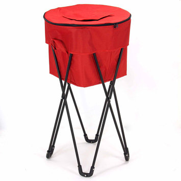 Household Essentials 2170-1 Standing Ice Cooler - Red