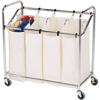Household Essentials 3024 Four-Bag Commercial Laundry Sorter