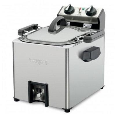 Waring Pro TF200B Professional Rotisserie Turkey Fryer/Steamer Stainless steel