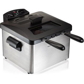 Hamilton Beach Professional-style Deep Fryer - 1.19 gal Oil / 6 Lb Food (35034)