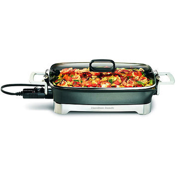 Hamilton Beach 38540 Black Premiere Cookware Electric Skillet