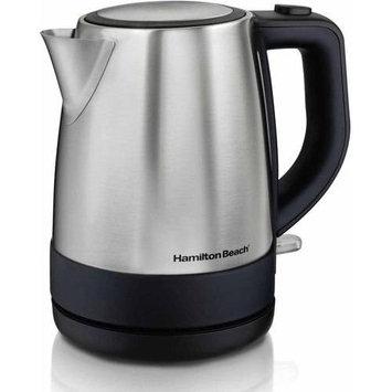 Hamilton Beach - 4.2-cup Electric Kettle - Silver/black