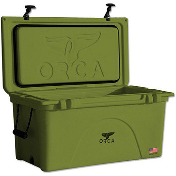 ORCA Cooler TW075ORC 75 Qt. Cooler Green