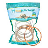 Best Bully's 7 Inch Bully Stick Ring - 10 Pack