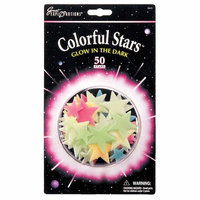 Great Explorations Glow in Dark Colorful Stars