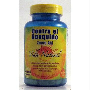 Contra el Ronquido / Znore Aid Vida Natural 60 Tabs
