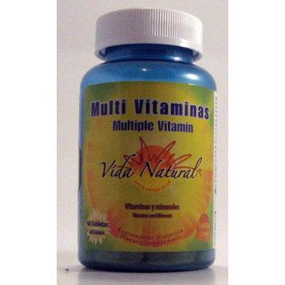 Multi Vitaminas / Multivitamins Vida Natural 60 Tabs
