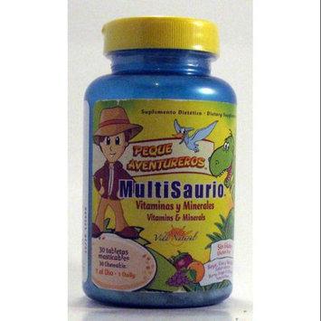 MultiSayro / MultiSaurus ( Berry, Grape and Orange) Vida Natural 30 Chewable