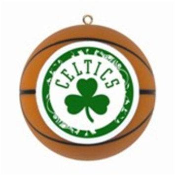 The Boelter Companies 106-BOSCEL Replica Basketball Ornament - Boston Celtics