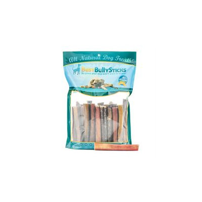 Best Bully Sticks 6 Inch Thick Odor Free Bully Sticks - 25 Pack