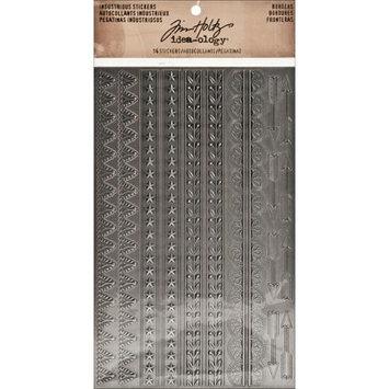 Advantus TH93091 Idea-Ology Industrious Stickers-Metallic Borders