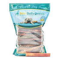 Best Bully Sticks 6 Inch Thick Odor Free Bully Sticks - 100 Pack