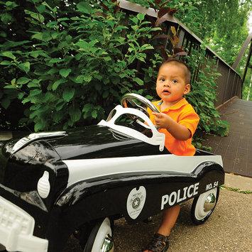 InSTEP 14-PC-200 Police Car Pedal Car