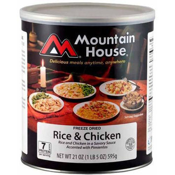 Mountain House 290105 Rice and Chicken - 10 Can